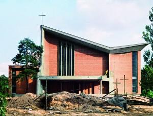 !Nowy kościół po rozbiórce starego - 10 sierpnia 1978