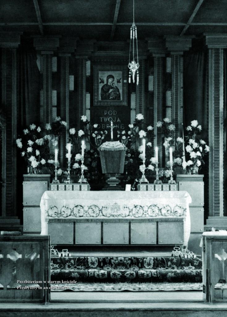 !Prezbiterium w starym kościele